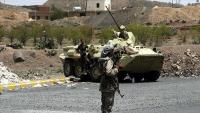 مقتل 4 حوثيين بنيران الجيش الوطني غربي تعز