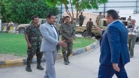 رئيس الحكومة يصل شبوة تزامنا مع احتجاجات تطالب بإقالته