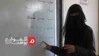 نجلاء والعنود نموذج لفتاتين نازحتين تحديتا الإعاقة رغم الحرب (فيديو)
